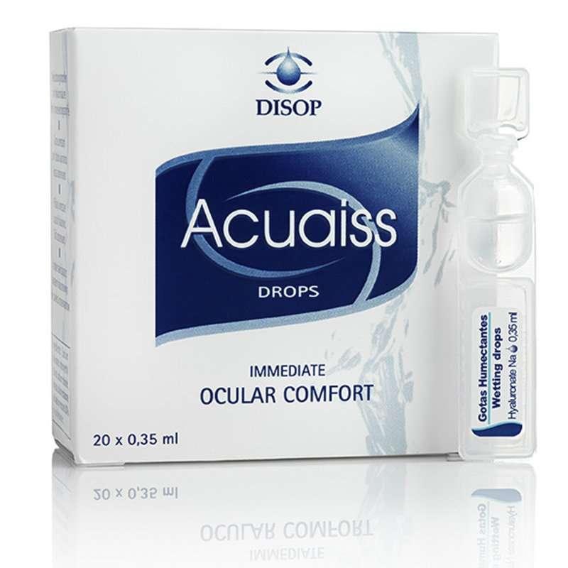 Acuaiss lágrima artificial con ácido hialurónico Disop monodosis