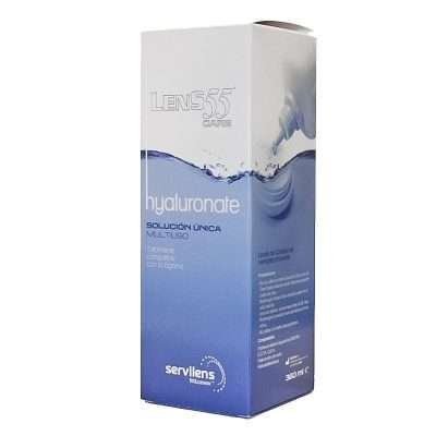 Lens 55 Care Hyaluronate Plus Solución Única 360ml