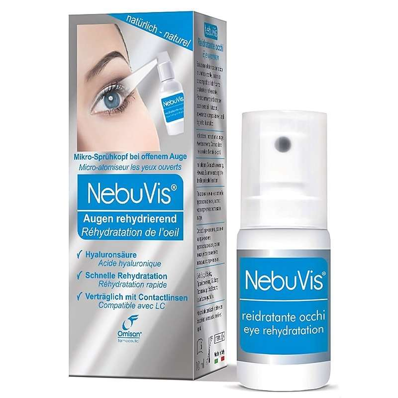 NebuVis Eye hydration Spray OMISAN 10ml