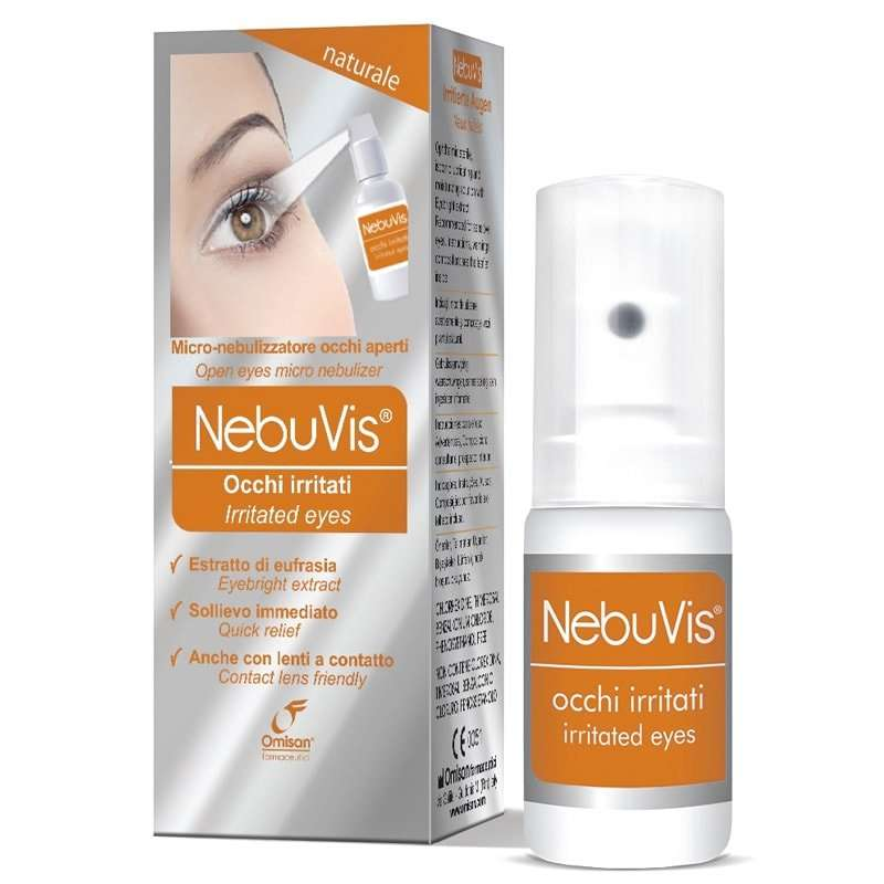 NebuVis Irritated eyes Spray OMISAN 10ml