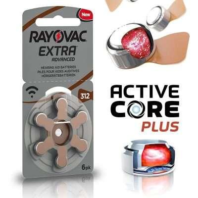 Rayovac Extra Advance 312 Pilas Audifonos