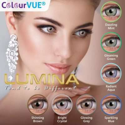 Lumina Lentes de color trimestrales Colourvue