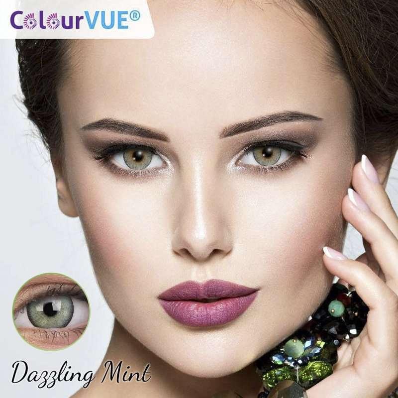 Lumina Lentes de color trimestrales Colourvue Dazzling-Mint