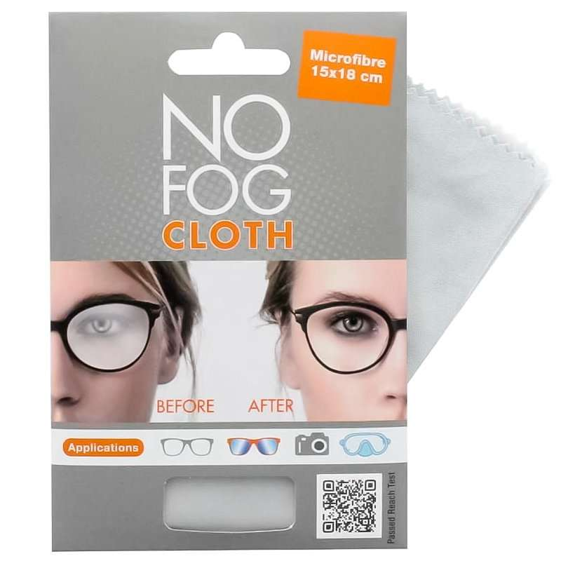 Fog No More Gamuza de Microfibra Antivaho CentroStyle 15x18 cm