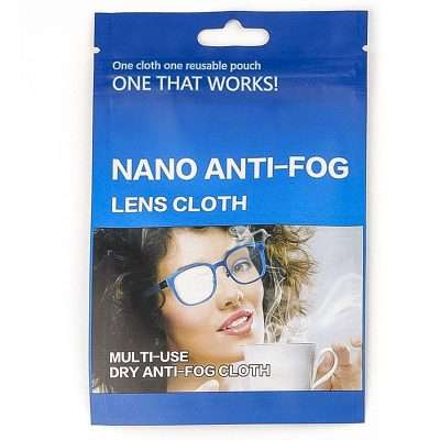 Gamuza Antivaho Nano Microfibra Reutilizable 15x15 cm