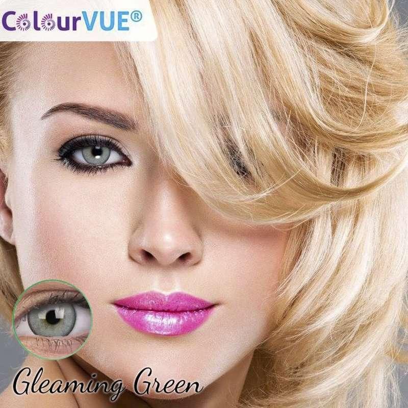 Lumina Lentes de color trimestrales Colourvue Gleaming-Green