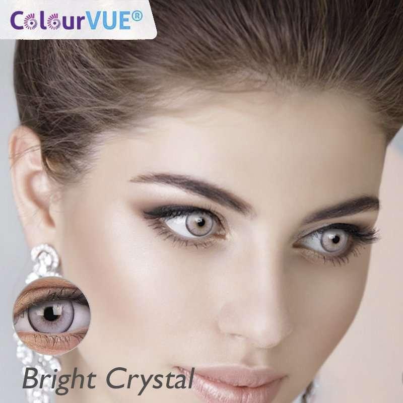 Lumina Lentes de color trimestrales Colorvue Bright Crystal