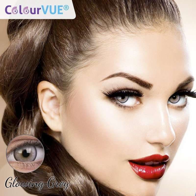 Lumina Lentes de color trimestrales Colorvue Glowing Grey