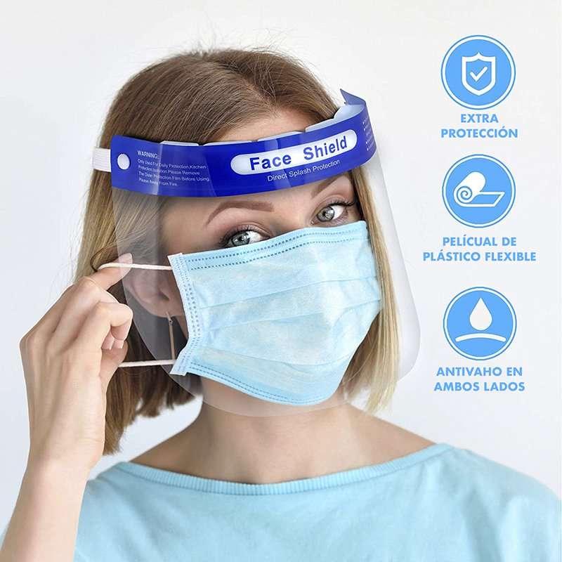 Pantalla Protectora Facial de Seguridad