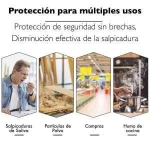 Pantalla Protectora Facial de Seguridad Visionis