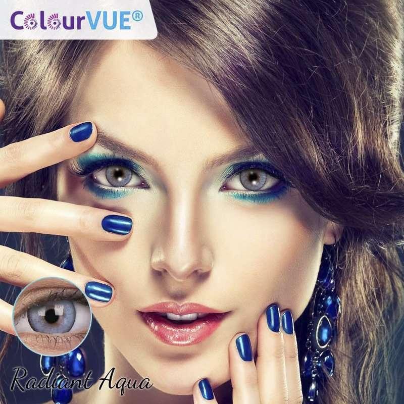 Lumina Lentes de color trimestrales Colourvue Radiant-Aqua