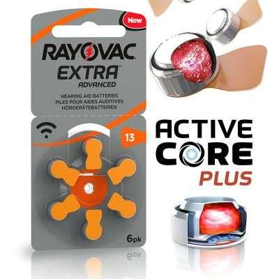 Rayovac Extra Advance 13 Pilas Audifonos 6 Pilas