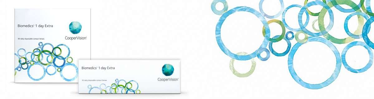 Biomedics 1 Day Extra CooperVision Pack