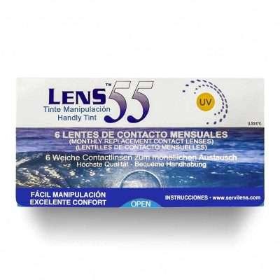 Lens 55 UV Hydrogel 6 Lentillas mensuales