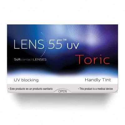 Lens 55 UV Toric Servilens Pack 3 y 6 lentes